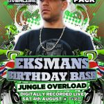 EKSMAN BIRTHDAY BASH: 8 x JUNGLE CD Pack PLUS FREE SIGNED ROLLING PAPERS £19.99-0