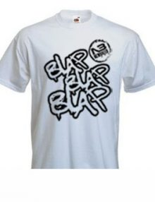 Blap Blap BlapT-Shirt In WHITE - BLACK -0
