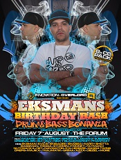 EKSMAN BIRTHDAY BASH 2015: 8 x Drum & Bass CD Pack £19.99 -0
