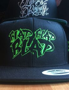 BLAP ( GRAF ) SNAP BACK - GREEN LOGO-0