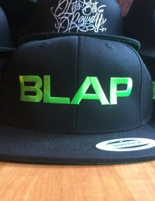 BLAP ( BOLD ) SNAP BACK - GREEN LOGO-0